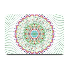 Flower Abstract Floral Plate Mats