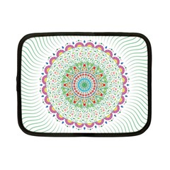 Flower Abstract Floral Netbook Case (small)