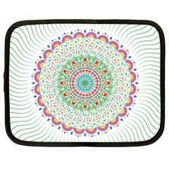 Flower Abstract Floral Netbook Case (XXL)