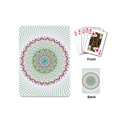 Flower Abstract Floral Playing Cards (mini)