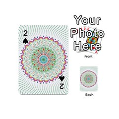Flower Abstract Floral Playing Cards 54 (mini)