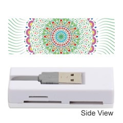 Flower Abstract Floral Memory Card Reader (stick)
