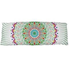 Flower Abstract Floral Body Pillow Case (dakimakura)