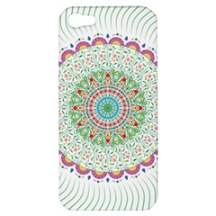 Flower Abstract Floral Apple Iphone 5 Hardshell Case