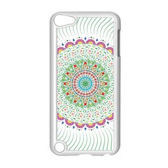 Flower Abstract Floral Apple Ipod Touch 5 Case (white)