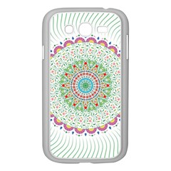 Flower Abstract Floral Samsung Galaxy Grand Duos I9082 Case (white)