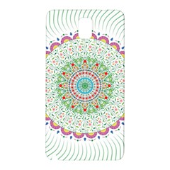 Flower Abstract Floral Samsung Galaxy Note 3 N9005 Hardshell Back Case