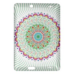 Flower Abstract Floral Amazon Kindle Fire Hd (2013) Hardshell Case