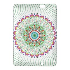 Flower Abstract Floral Kindle Fire HDX 8.9  Hardshell Case