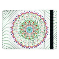 Flower Abstract Floral Samsung Galaxy Tab Pro 12.2  Flip Case