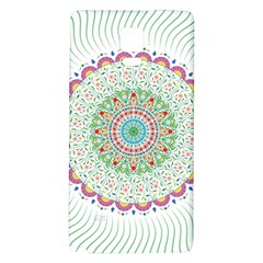 Flower Abstract Floral Galaxy Note 4 Back Case
