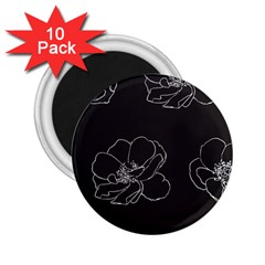 Rose Wild Seamless Pattern Flower 2.25  Magnets (10 pack)