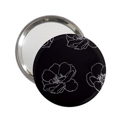 Rose Wild Seamless Pattern Flower 2.25  Handbag Mirrors