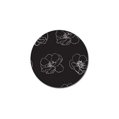 Rose Wild Seamless Pattern Flower Golf Ball Marker (10 pack)