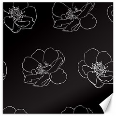 Rose Wild Seamless Pattern Flower Canvas 12  x 12