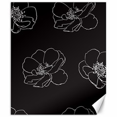 Rose Wild Seamless Pattern Flower Canvas 20  X 24