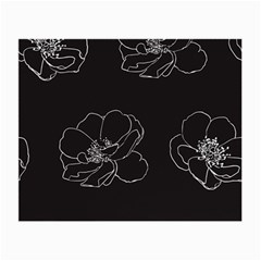 Rose Wild Seamless Pattern Flower Small Glasses Cloth (2 Side)