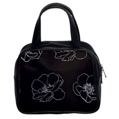 Rose Wild Seamless Pattern Flower Classic Handbags (2 Sides)