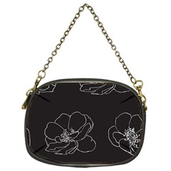 Rose Wild Seamless Pattern Flower Chain Purses (one Side)