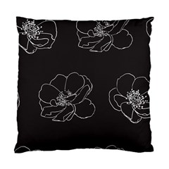 Rose Wild Seamless Pattern Flower Standard Cushion Case (One Side)