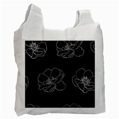 Rose Wild Seamless Pattern Flower Recycle Bag (Two Side)