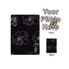 Rose Wild Seamless Pattern Flower Playing Cards 54 (Mini)