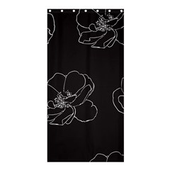 Rose Wild Seamless Pattern Flower Shower Curtain 36  x 72  (Stall)