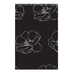 Rose Wild Seamless Pattern Flower Shower Curtain 48  x 72  (Small)
