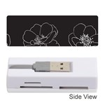 Rose Wild Seamless Pattern Flower Memory Card Reader (Stick)  Front