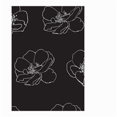 Rose Wild Seamless Pattern Flower Small Garden Flag (Two Sides)