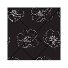 Rose Wild Seamless Pattern Flower Acrylic Tangram Puzzle (6  X 6 )