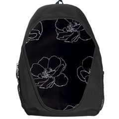 Rose Wild Seamless Pattern Flower Backpack Bag