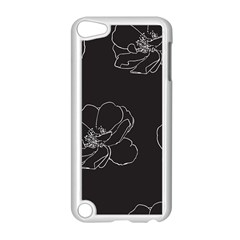 Rose Wild Seamless Pattern Flower Apple Ipod Touch 5 Case (white)