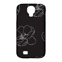 Rose Wild Seamless Pattern Flower Samsung Galaxy S4 Classic Hardshell Case (PC+Silicone)