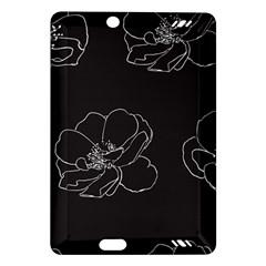 Rose Wild Seamless Pattern Flower Amazon Kindle Fire Hd (2013) Hardshell Case