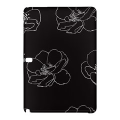 Rose Wild Seamless Pattern Flower Samsung Galaxy Tab Pro 10 1 Hardshell Case