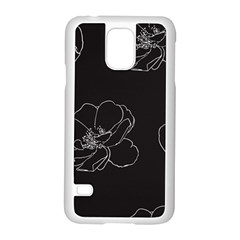 Rose Wild Seamless Pattern Flower Samsung Galaxy S5 Case (white)