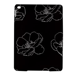 Rose Wild Seamless Pattern Flower iPad Air 2 Hardshell Cases