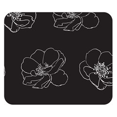 Rose Wild Seamless Pattern Flower Double Sided Flano Blanket (Small)