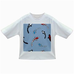 Koi Carp East Vector Seamless Infant/toddler T Shirts