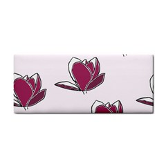 Magnolia Seamless Pattern Flower Cosmetic Storage Cases