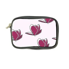 Magnolia Seamless Pattern Flower Coin Purse