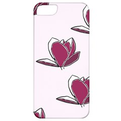 Magnolia Seamless Pattern Flower Apple Iphone 5 Classic Hardshell Case