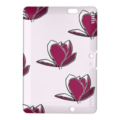 Magnolia Seamless Pattern Flower Kindle Fire HDX 8.9  Hardshell Case