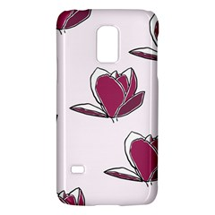 Magnolia Seamless Pattern Flower Galaxy S5 Mini