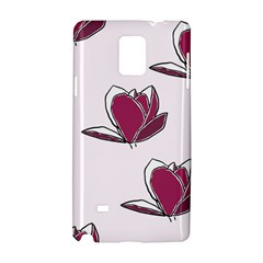 Magnolia Seamless Pattern Flower Samsung Galaxy Note 4 Hardshell Case