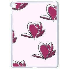 Magnolia Seamless Pattern Flower Apple Ipad Pro 9 7   White Seamless Case