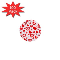 Cards Ornament Design Element Gala 1  Mini Buttons (100 Pack)