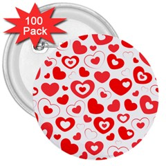 Cards Ornament Design Element Gala 3  Buttons (100 Pack)