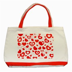 Cards Ornament Design Element Gala Classic Tote Bag (red)